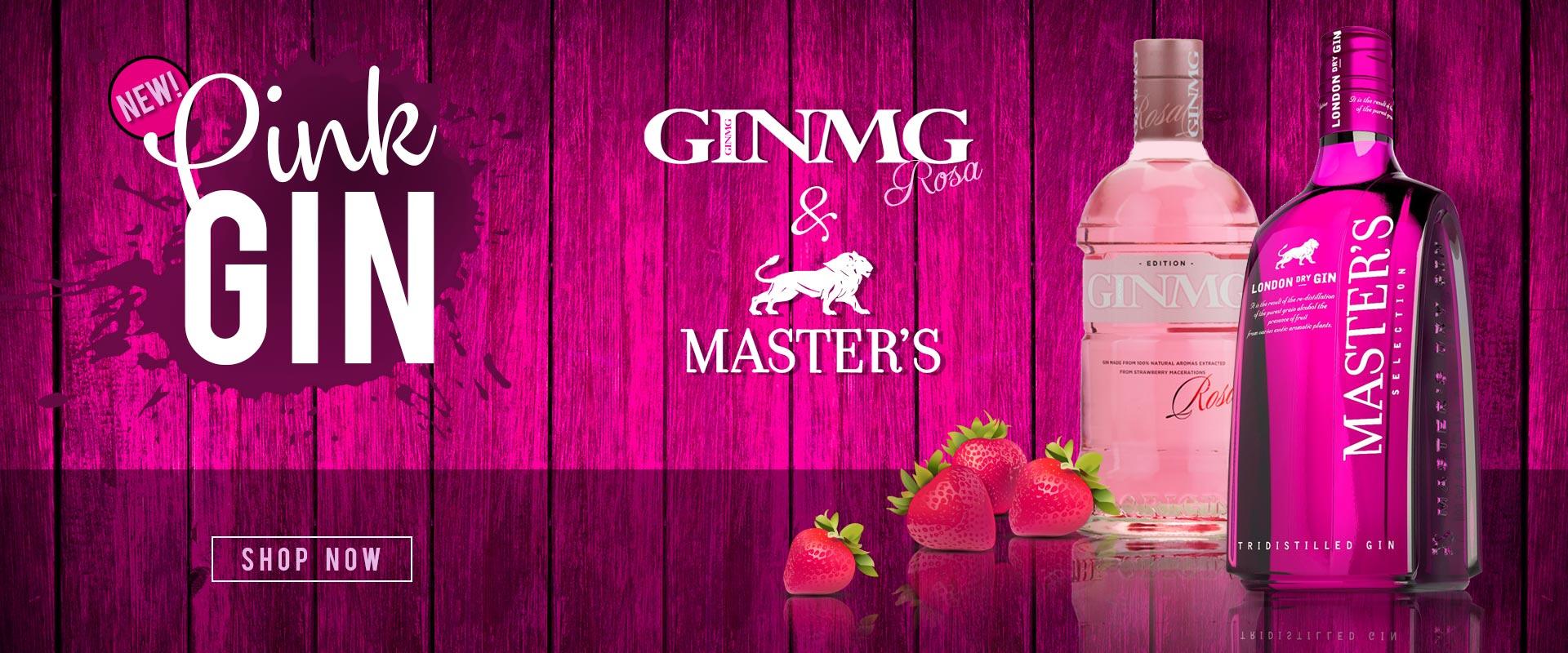 Pink Gin - MG & Masters